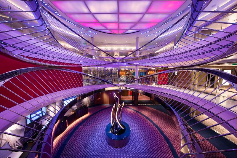 Atrium van het schip