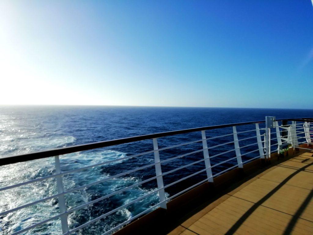 Prachtig uitzicht op zee